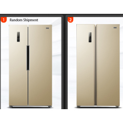 BCD-452WK 452L -25~+4 Degree Stainless Steel Home Double Door Displayer Refrigerator Freezer Fridge
