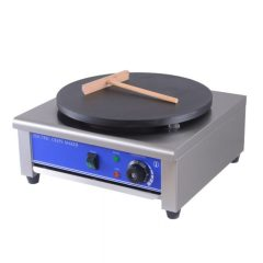 110v 400mm Commercial Stainless Steel Electric 1 Head Crepe Maker Pancake Machine