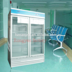 Is-YPX 2~8 degree 873L air cooling double door medical refrigerator