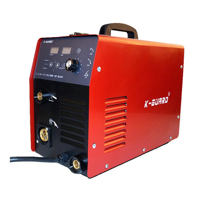 Mig280 Electric Welding Machine Manual Argon Arc Gas Shielded Welding Portable Industry One Machine Three