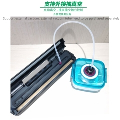 Dry And Wet Small Household Food Plastic Bag  Vacuum Sealing Machine Kitchen Fresh Keeping Machine Rice Vacuum Packaging Machine