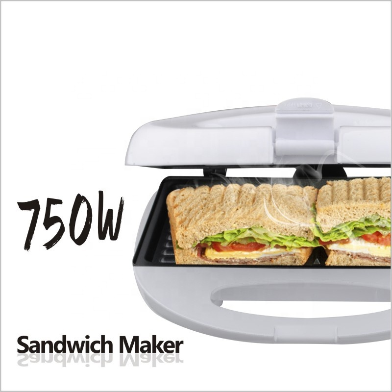 2018 Trending Breakfast Electric Hotest New Product 4 Slice Sandwich Maker Interchangeable Plate For Home Use