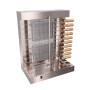 Canada USA 110v 220v LPG Gas heating Stainelss Steel 10 Kebab Skewers Doner Shawarma Burner Grill Griddle Lamb Roaster
