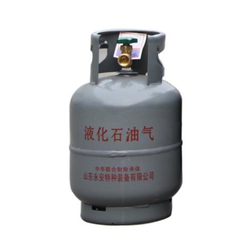 Propane Butane Steel Cylinder 5kg Composite LPG Cylinder Kitchen Restaurant Cooking Household Commercial Gas Tank