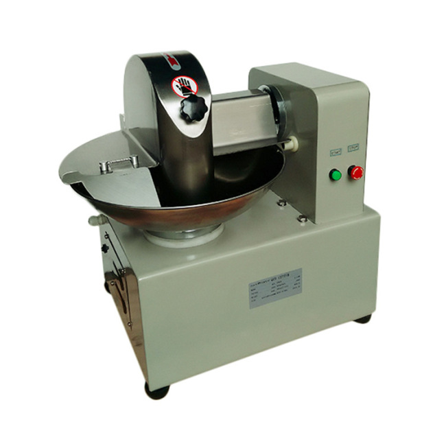 5L Manufacturer Buffalo Beef Vegetable Slicer Mincer Meat Chopper Dicer Bowl Cutter tools Machine