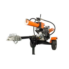 25 Ton Gasoline Electric Firewood Chopper Horizontal Hydraulic Large Log Wood Chopper Machine