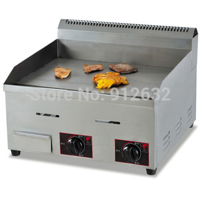 GH-718 Gas Flat Griddle Gas Burner Griddle Grill Machine Gas Baking Stove Pancake Griddle with Burners