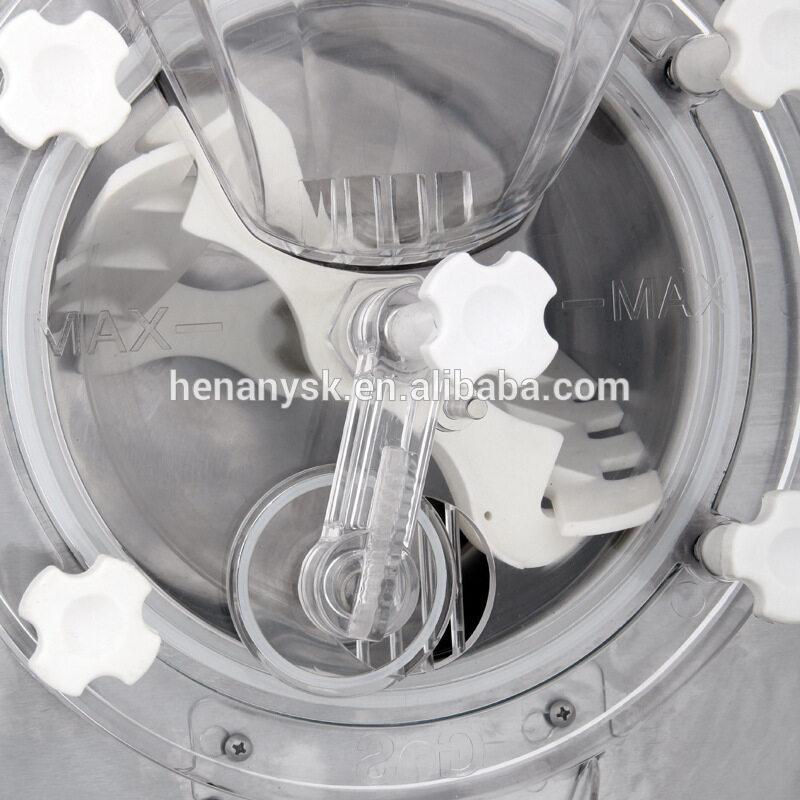 QB18T 16-20L/H Desktop Hard Ice Cream Machine