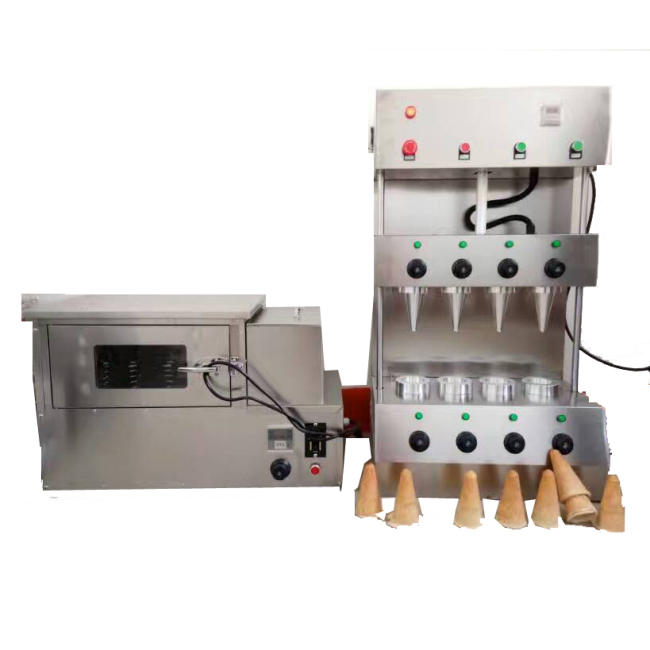 Hot Sale Oven Biscuit Maker Box Rolled Sugar Baking Automatic For Ice Cream Snow Cone Pizza Making Machine
