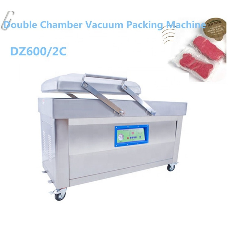 2 Double Chamber Vacuum Sealing Sealer Machine For Commercial and Home Use