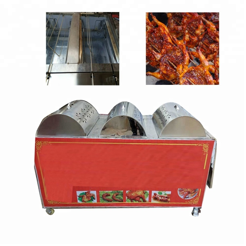 Big Mobile Chicken Roasting Machine Lamb Roaster DUCK Baking Oven