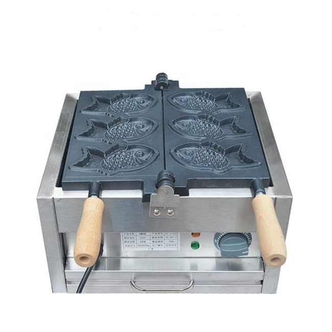 Waffle Iron Electric Fish Shape Waffle Baker Fish Cake Maker IS-FY-1103A Hot Sales