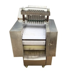 High Efficient Electric Pie Strip Bone Frozen Meat Cube Cutter Machine For Sale