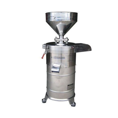 2019 65Kg/H New model 130 Model Automatically Slag Separate Soy Bean Milk Grinding Soybean Grinder Machine Slag seapator machine