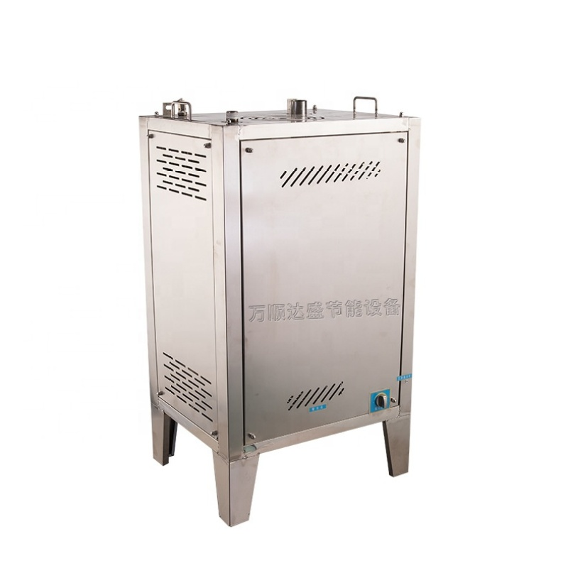 40-120kg/h capacity Automatic Lpg Gas Heating Steam Boiler Steam Generator Machine Space heating 103degree