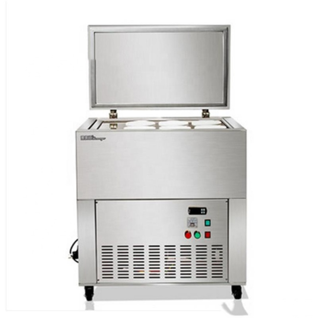 Stainless Steel Commercial 9 Barrels Mein Mein Ice Maker Machine
