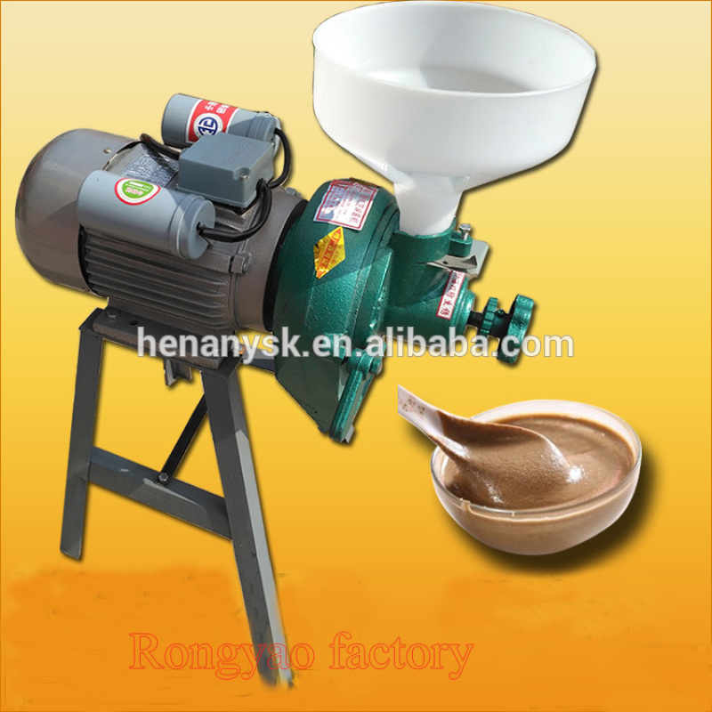 High Quality Peanut Butter Grinding Machine Electric Stone Grinding Wheel with Spare Parts Disc