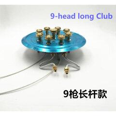 Wholesale 5 Burners Gas Stove Accessories Brass Burner Refitted Blast Furnace Head Distributor Pure Copper Igniter