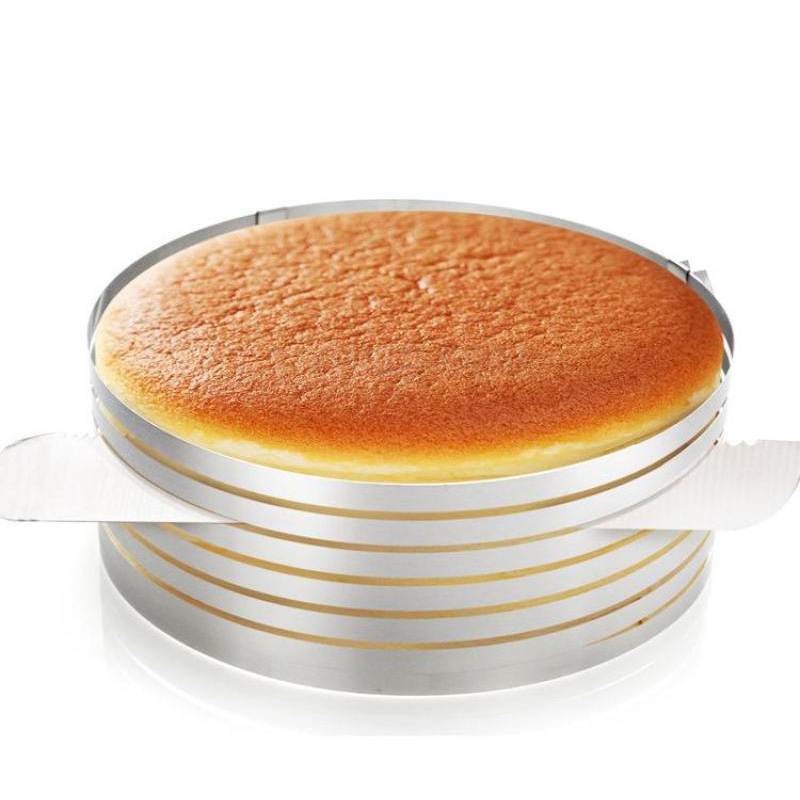 24-30cm 9-12inch Adjust Layered Telescopic Circle Extendable Cake-slicing Baking Mold Slice Ring Cake Mould