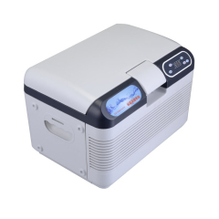 12L Heating / Cold Double Refrigeration Mini Car Fridge Refrigerator