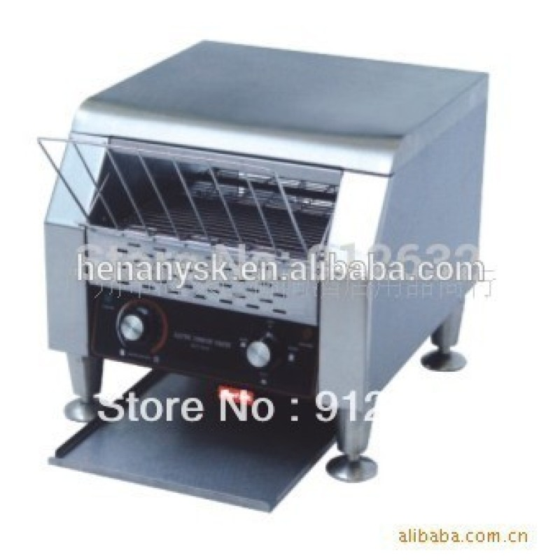 Electric 150-180 Slices of Bread /H Bread Waffle Baking Machine Conveyor Toaster
