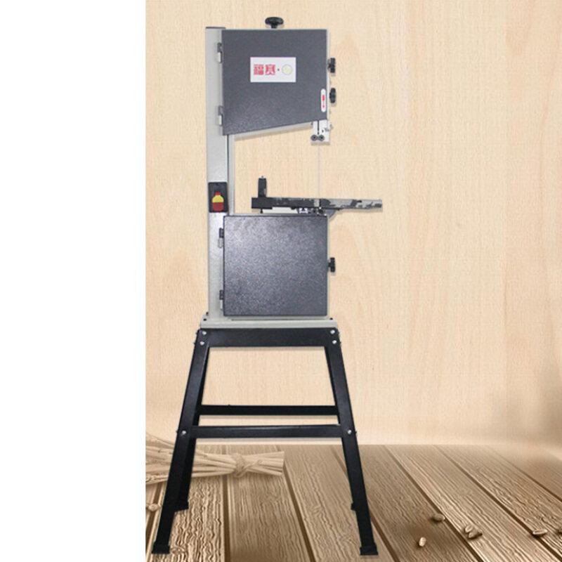 10'' Band Saw Wood Multi-function Joinery Board Cutting Machine Flower Saw Bone Cutting Small Metal Curve Sawing Machine