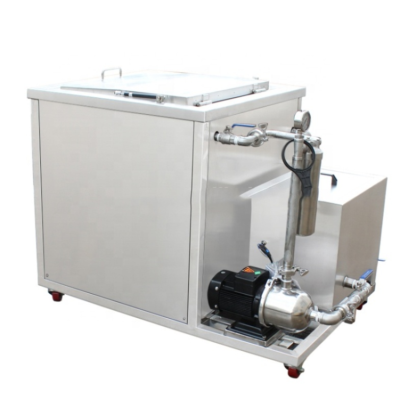 40KHz 360L Oil Filter System Ultrasonic Cleaning Machines DPF With CE