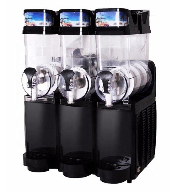 IS-TKX- 02 Commercial Double Cylinder Automatic Smoothie Machine Slushy Maker