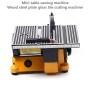 110v 240v Mini Table Sawing Machine 3 Sets Of Saw Blades For Cutting Wood Rebar Metal Glass Tile Cutting Machine