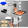 2018 Hot Selling Low Price Manual Electric Wholesale Mini Home Bread Slicer Machine