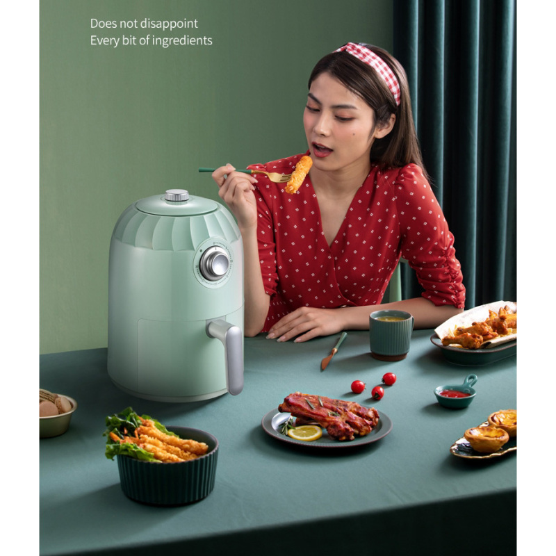 Home Hot Air Fryer Oven Large-capacity New Generation Intelligent Smoke-free French Fries Electric Air Fryers