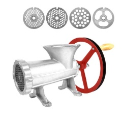 32 Cast Iron Meat Grinder Minced ChickenMachine Price List different Disc Cross Knife with Bearing version