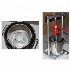 Manual Stainless Steel Grape Hand Hydraulic Juicer Machine Jack Juice Crusher Grape / Wine Juice Presser Squeezer Sale