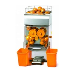 Máscara de acero inoxidable E-4 Extractor de exprimidor de naranja Máquina exprimidora de jugo de naranja