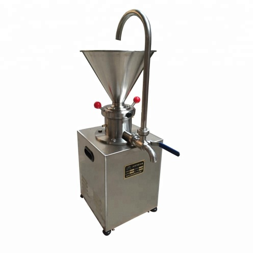 JMC60 Stainless Steel Industry Multi-Purpose Food Chemical Peanut Various Liquid Small Colloid Mill Grinding Grinder