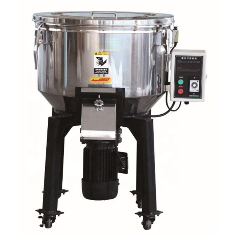 Low Noise Stainless Steel Small Vertical Color Mixer Plastics Mixer Mixing Machine