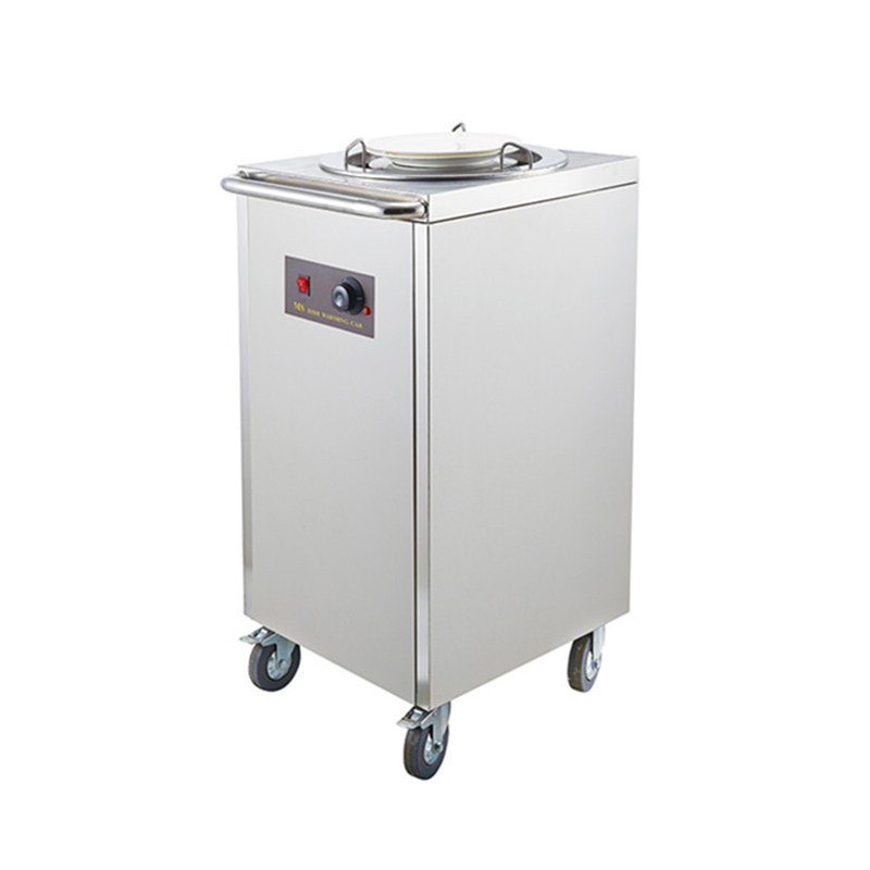 1 hole Stailess steel fast sales Plate warmer cabinet cart Dishes Warming Trays Food Warming Equipment
