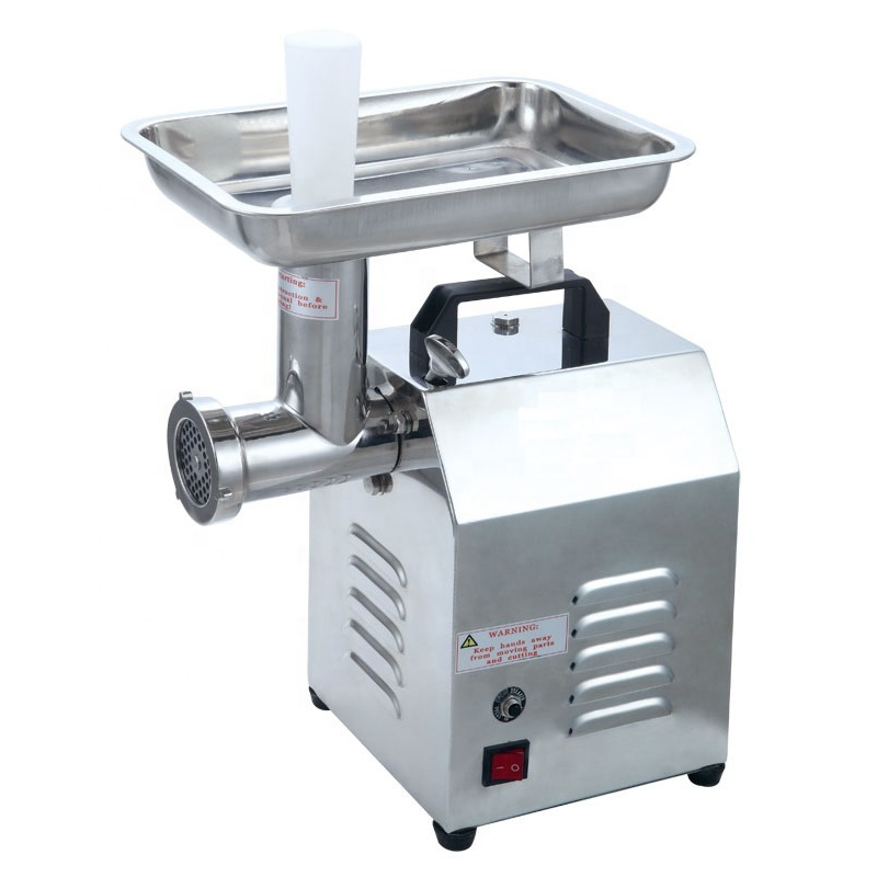 32 42 hot selling Stainless Steel Commercial Sausage Stuffer Pepper Mincer Electric Meat Mincer Grinder
