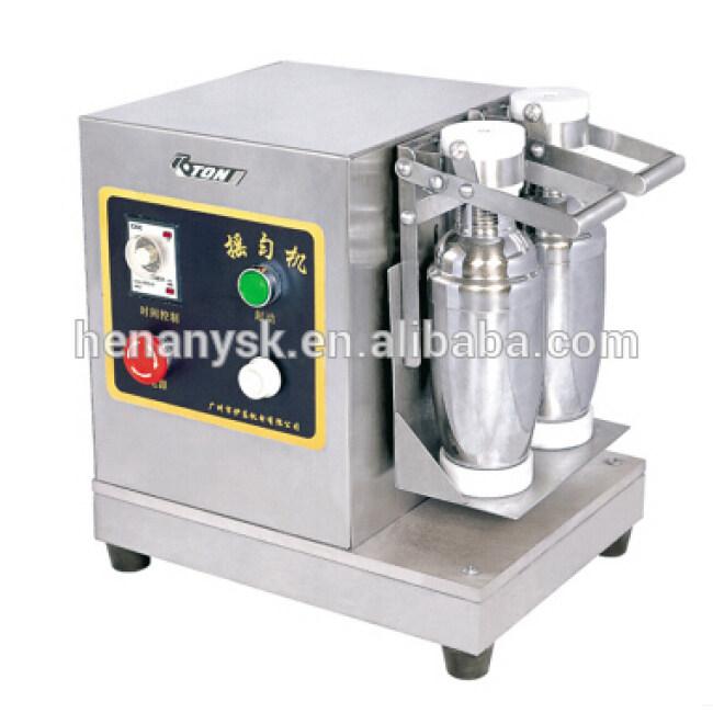 Stainless Steel 2 Head 360-Degree Swing Pearl Double bubble tea Milk Shaking Shake Machine