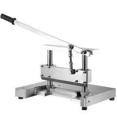 STAINLESS STEEL Manual Bone Cutter Chopper Kitchen Meat Cutting Machine Tool