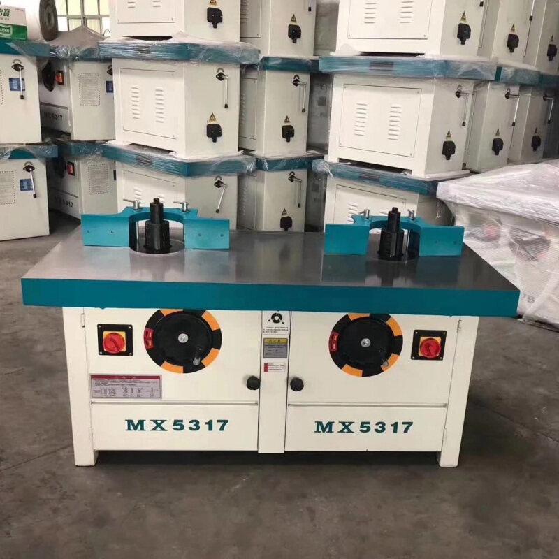 Mx5117b Electric Woodworking Vertical Shaft Milling Machine, Big Gong Machine