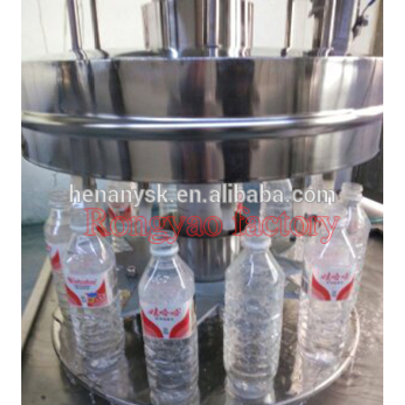 12 Bottle Filling Equipment Plastic Bottle Drinking Water Filling Equip New Style 2017