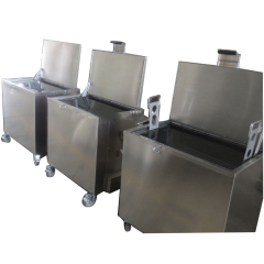 230 L Kitchen utensils Cleaning Commercial Kitchen Soak Tank Stainless Steel Oven Dip Soaking Tank
