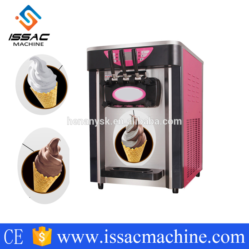 18-20L/H Desktop Hot Selling Soft Ice Cream Maker Machine