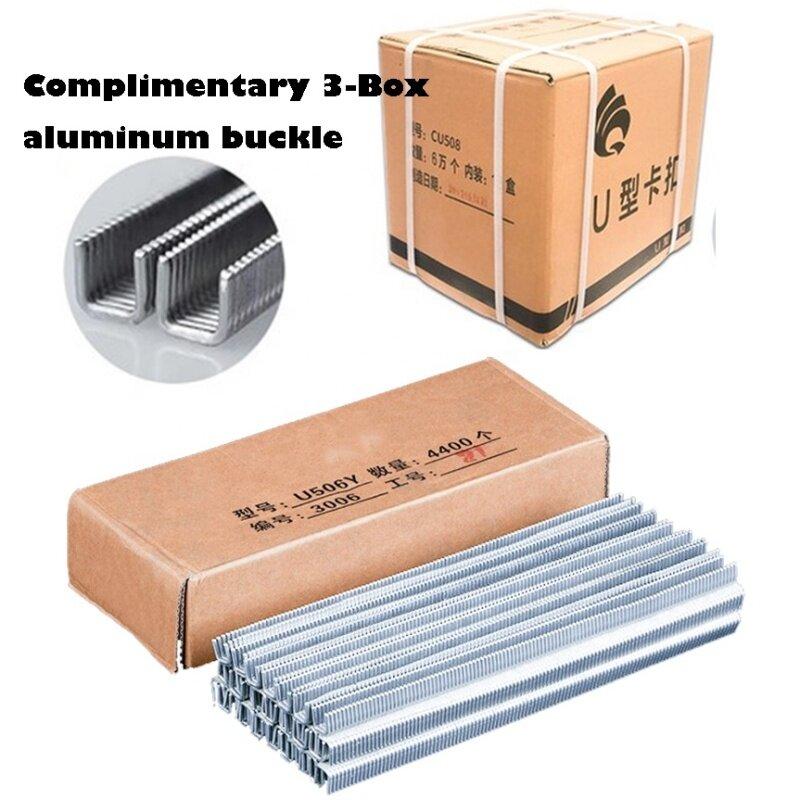 Pneumatic Labor-Saving Manual Aluminum U-Type Clipper Packaging Play Button Sealing Machine for Sausage Tying