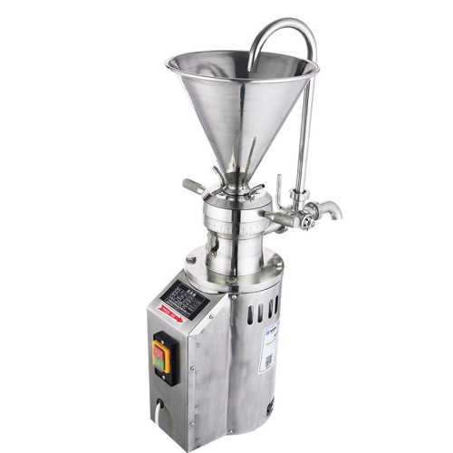 Spot Vertical Stainless Steel Food Colloid Mill Nuts Pepper Sauce Peanut Sesame Paste Grinder Grinding Equipment Single Three Ph