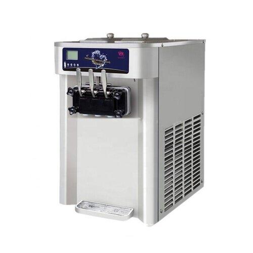 25-30L/H Stainless Steel Home Business Ice Cream Machine Soft Ice Cream Maker Rainbow