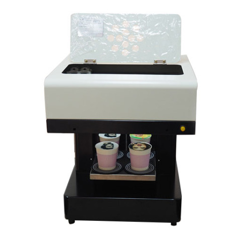 Fast 20*20cm print area 4 cups / time Let's Edible Cake Selfie Latte Art Printing Coffee Printer Machine