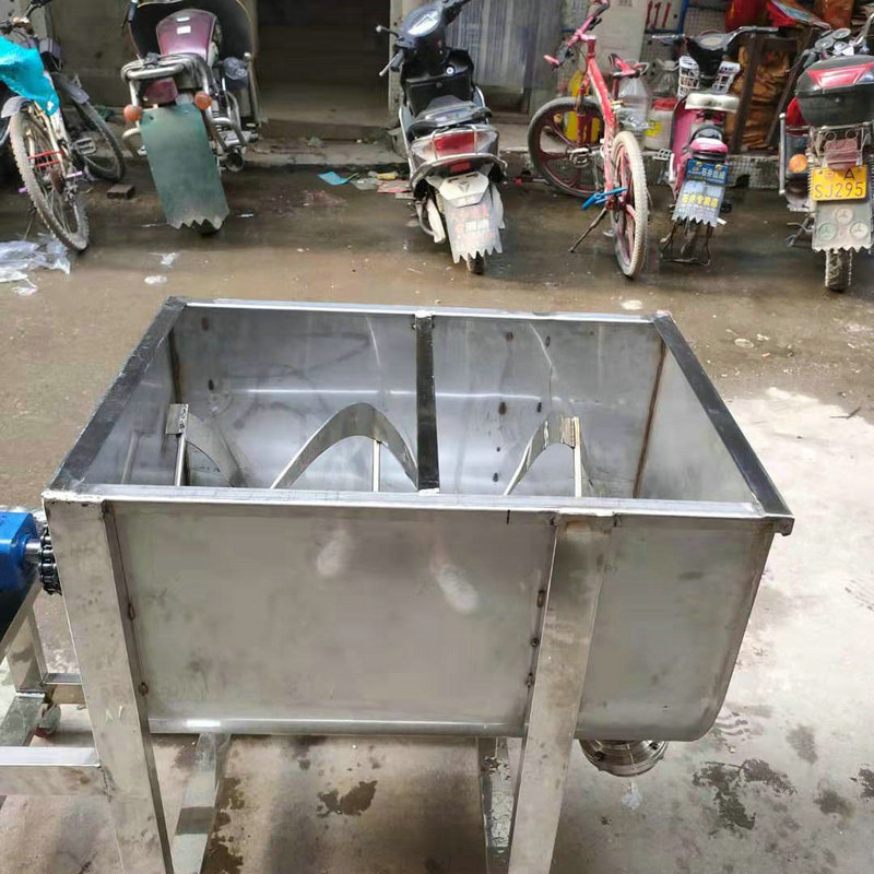 Stainless steel horizontal mixer Feed mixer Poultry feed mixer