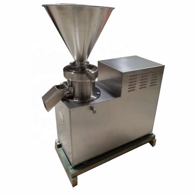 Hot Sell Industrial big Chemical Nut Almond Sesame Cocoa Walnut Peanut Butter Jelly Making Bitumen Colloid Mill Machine